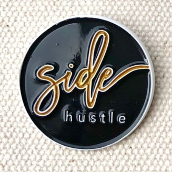 ATLPOSHER Accessories - Side Hustle • Posh Swag, Accessory, Lapel Pin, New